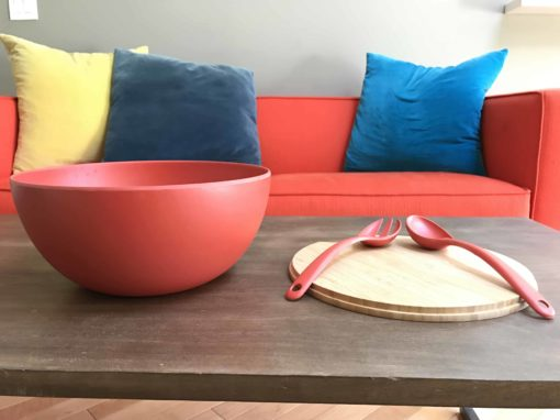 Red Serving Bowl Large Red