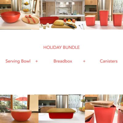 Breadbox Serving Bowl Kitchen Canisters