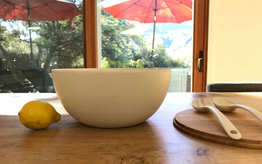 How Bamboo Bowls are Dishwasher Safe but also Biodegradable at end of Their Life